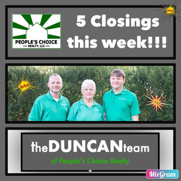 The Duncan Team is ON FIRE!!